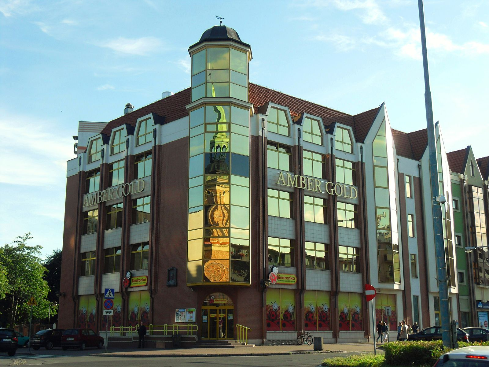 Amber Gold headquarters in Gdansk